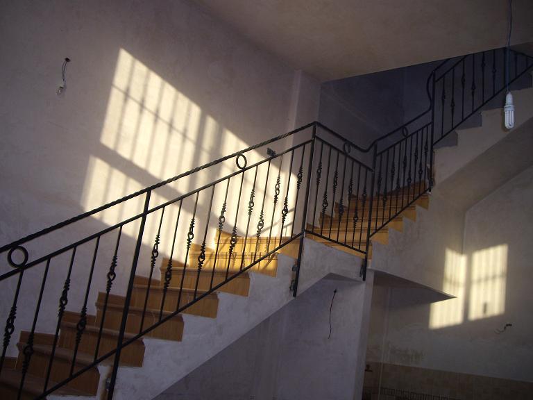 Barandillas escalera interior hierro
