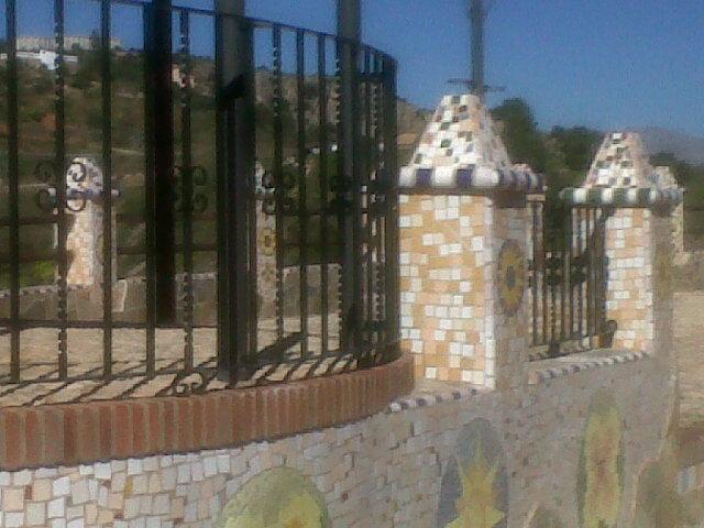 Barandillas mirador Almogía
