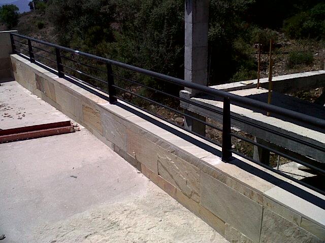 Barandillas escalera en hierro