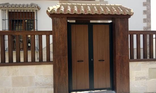 Outer door