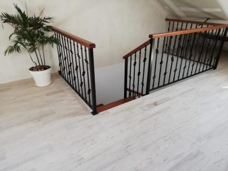 Escaleras en forja y hierro