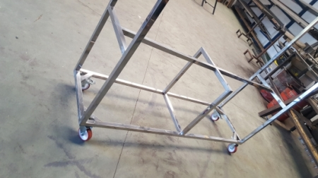 Stainless Steel structure.