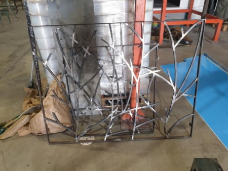 Wrought iron bars