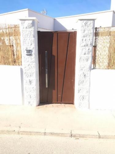 Exterior entrance door