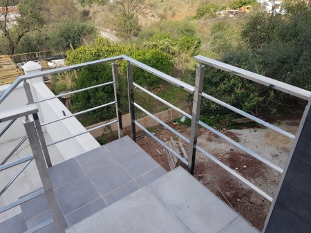 Exterior stainless steel