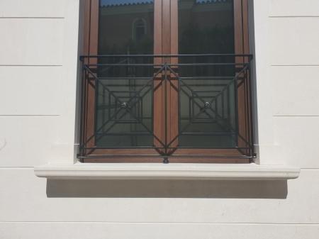Rejas ventanas modernas