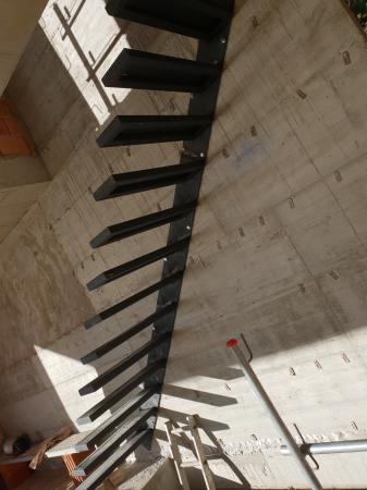 Escalera de peldaños